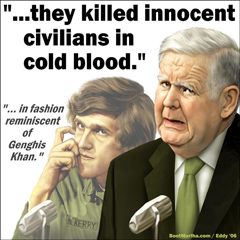 Murtha and Kerry smear troops